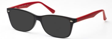 SFE-10211 sunglasses in Red