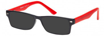 SFE-10212 sunglasses in Red
