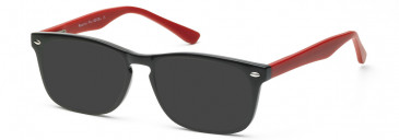 SFE-10213 sunglasses in Red