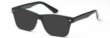 SFE-10216 sunglasses in Matt Black