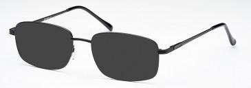SFE-10223 sunglasses in Matt Black