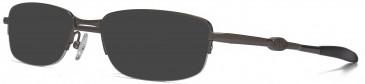 Animal ANIS010 Sunglasses in Dark Matt Gunmetal