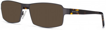 Animal ANIS015 Sunglasses in Matt Grey/Tortoiseshell