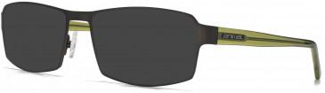 Animal ANIS015 Sunglasses in Matt Grey/Tortoiseshell