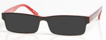 ARSENAL OAR003 Sunglasses in Black/Red