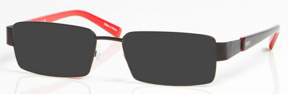 ARSENAL OAR004 Sunglasses in Black/Red
