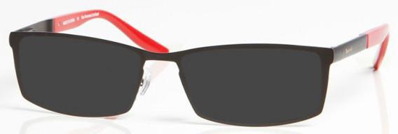 ARSENAL OAR006 Sunglasses in Black/Red