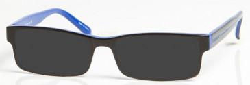 CHELSEA OCH003 Sunglasses in Black/Blue