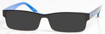 EVERTON OEV003 Sunglasses in Black/Blue
