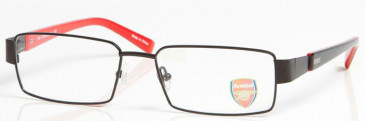 ARSENAL OAR004 glasses in Black/Red