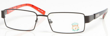 LIVERPOOL OLI004 glasses in Black/Red