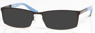 MANCHESTER CITY OMC006 sunglasses in Black/Blue