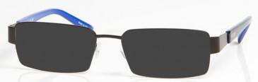 CHELSEA OCH004 sunglasses in Black/Blue