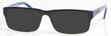 CHELSEA OCH005 sunglasses in Black/Blue
