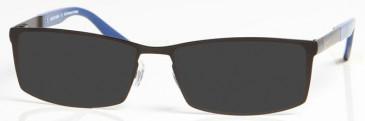 CHELSEA OCH006 sunglasses in Black/Blue