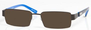 EVERTON OEV004 sunglasses in Black/Blue