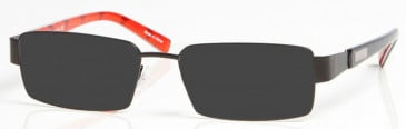 LIVERPOOL OLI004 sunglasses in Black/Red