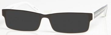 NEWCASTLE UNITED ONE003 sunglasses in Black/White