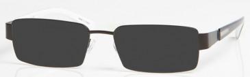 NEWCASTLE UNITED ONE004 sunglasses in Black/White
