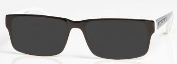 NEWCASTLE UNITED ONE005 sunglasses in Black/White