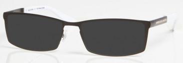 NEWCASTLE UNITED ONE006 sunglasses in Black/White