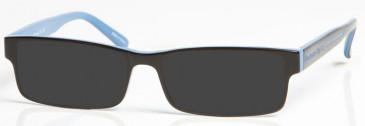 MANCHESTER CITY OMC003 sunglasses in Black/Blue