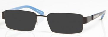 MANCHESTER CITY OMC004 sunglasses in Black/Blue