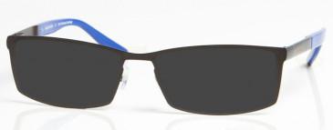 EVERTON OEV006 sunglasses in Black/Blue