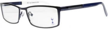 Tottenham Hotspur OTH006 glasses in Dark Gun Metal/Blue