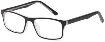 BMX EYEWEAR BMX 68 glasses in Black/Crystal