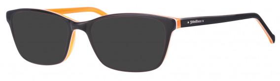 Schott NYC 4016 Sunglasses in Black/Orange