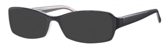 Visage 382 Sunglasses in Black