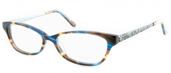 Oasis Calatheas glasses in Blue Stripe