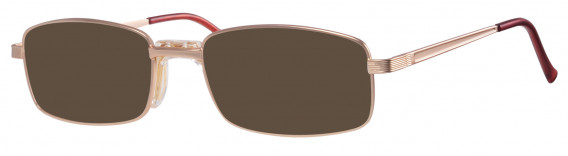 Visage 395 Sunglasses in Gold