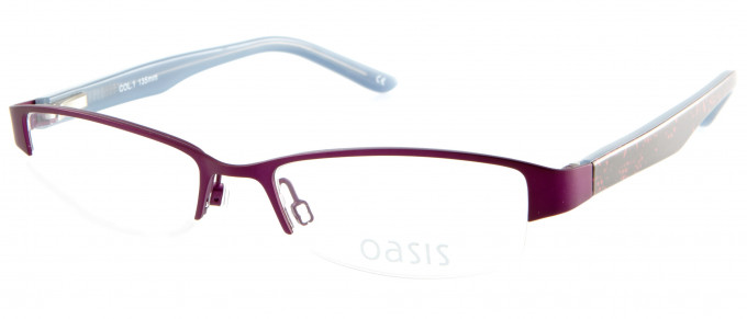 Oasis Clarkia glasses in Purple
