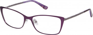 Anna Sui AS224 glasses in Purple/Light Gun