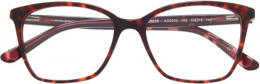 Anna Sui AS5035 glasses in Tortoiseshell Burgundy