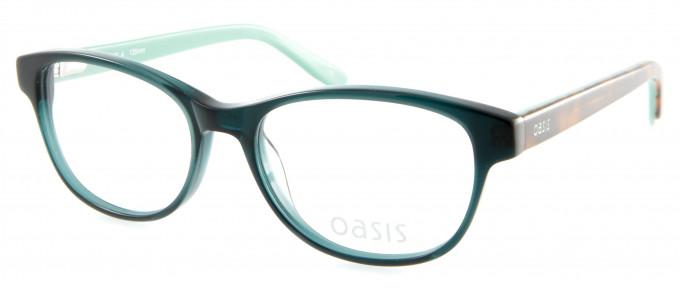 Oasis Mahonia glasses in Green
