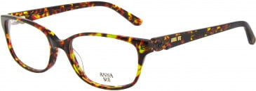 Anna Sui AS661A glasses in Olive Tortoiseshell