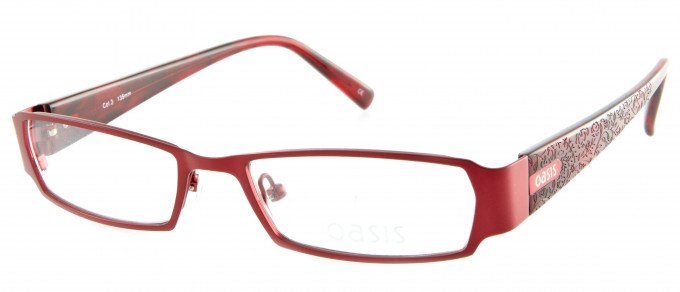 Oasis Nightshade glasses in Red