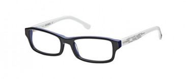 Diesel DL5004 glasses in Shiny Blue