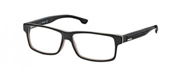 Diesel DL5015-52 glasses in Black/Smoke Tint