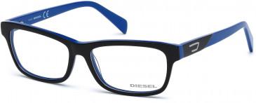 Diesel DL5039-52 glasses in Black