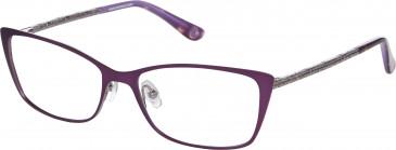 Anna Sui AS224 glasses in Purple/Light Gun