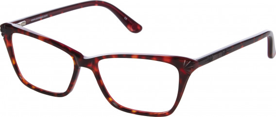 Anna Sui AS502 glasses in Tortoiseshell Burgundy