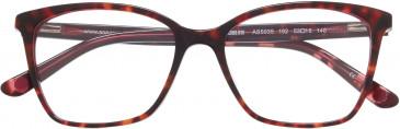 Anna Sui AS5035 glasses in Tortoiseshell Burgundy