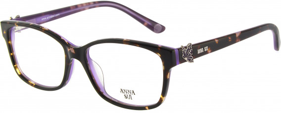 Anna Sui AS662A glasses in Tortoiseshell Purple