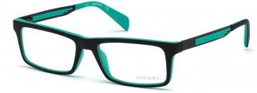 Diesel DL5050 glasses in Black