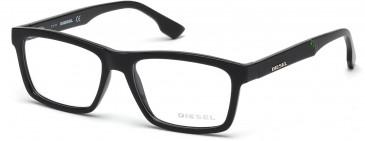 Diesel DL5062-55 glasses in Black