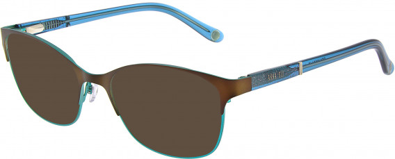Anna Sui AS216A sunglasses in Brown